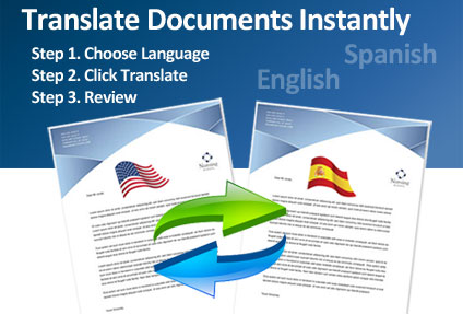 French to english translation translate documents in seconds for Translate my document to spanish