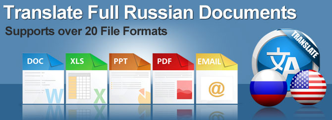 Example To russian document translation services
