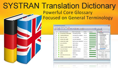 SYSTRAN Translation Dictionary