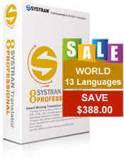 SYSTRAN Professional - World Pack