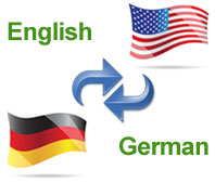 German and English language