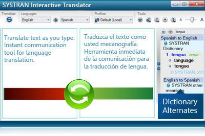 Systran Home Translator
