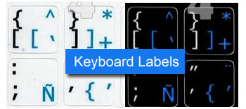 Keyboard Labels and Stickers