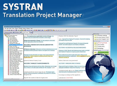 Systran Project Manager