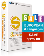 SYSTRAN Professional - European Pack