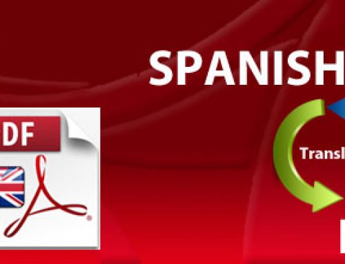 How to translate Spanish PDF to English