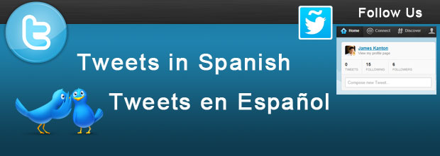 Tweets in Spanish